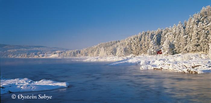 Vintertur ved Bingsfossen