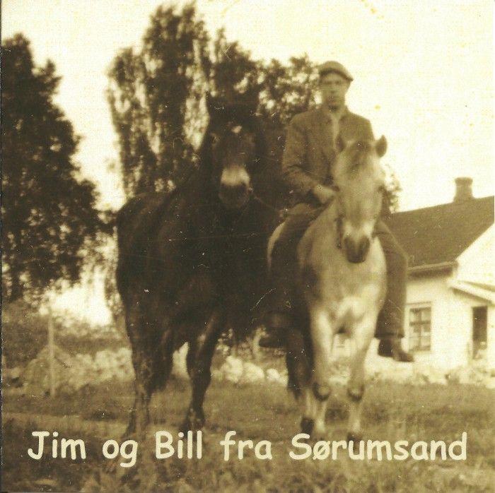Elveblæst og Jim og Bill på Sørumsand