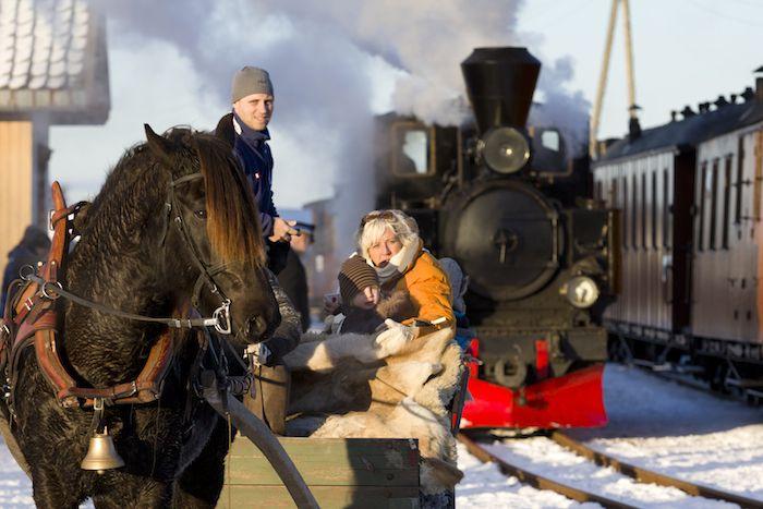 Julekjøring med Urskog-Hølandsbanen «Tertitten»