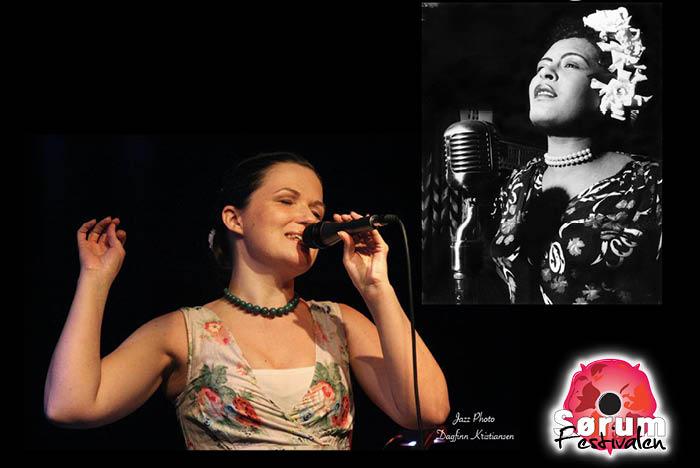Ann Helen Hjemli synger Billie Holiday