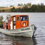 """Tur med Fløterbåten """"Askeladden"""""""